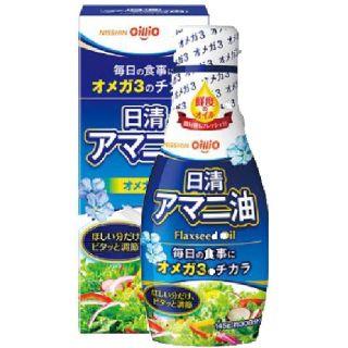 日清 アマニ油 フレッシュキープボトル