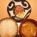 さしみ定食 - 実際訪問したユーザーが直接撮影して投稿した新宿懐石料理・割烹新宿割烹 中嶋の写真のメニュー情報