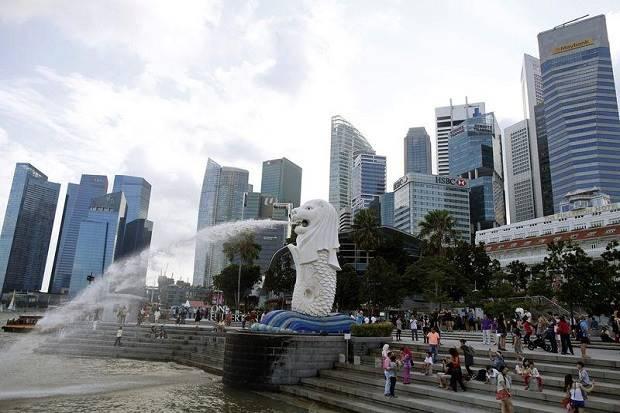 Patung Ikan Berkepala Singa Merlion di Singapura Akan Dihancurkan