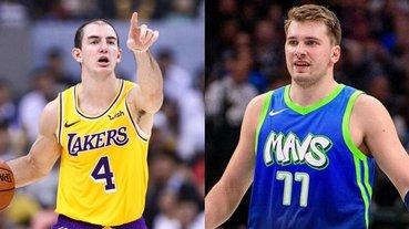 Doncic 力壓詹皇成為人氣王!NBA 全明星賽首輪投票結果出爐,Caruso 跟 Taco Fall 竟也上榜!
