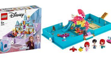 樂高迪士尼公主口袋故事書開箱!遁入艾莎、安娜、貝兒、愛麗兒、花木蘭的小世界~打造你的專屬王國