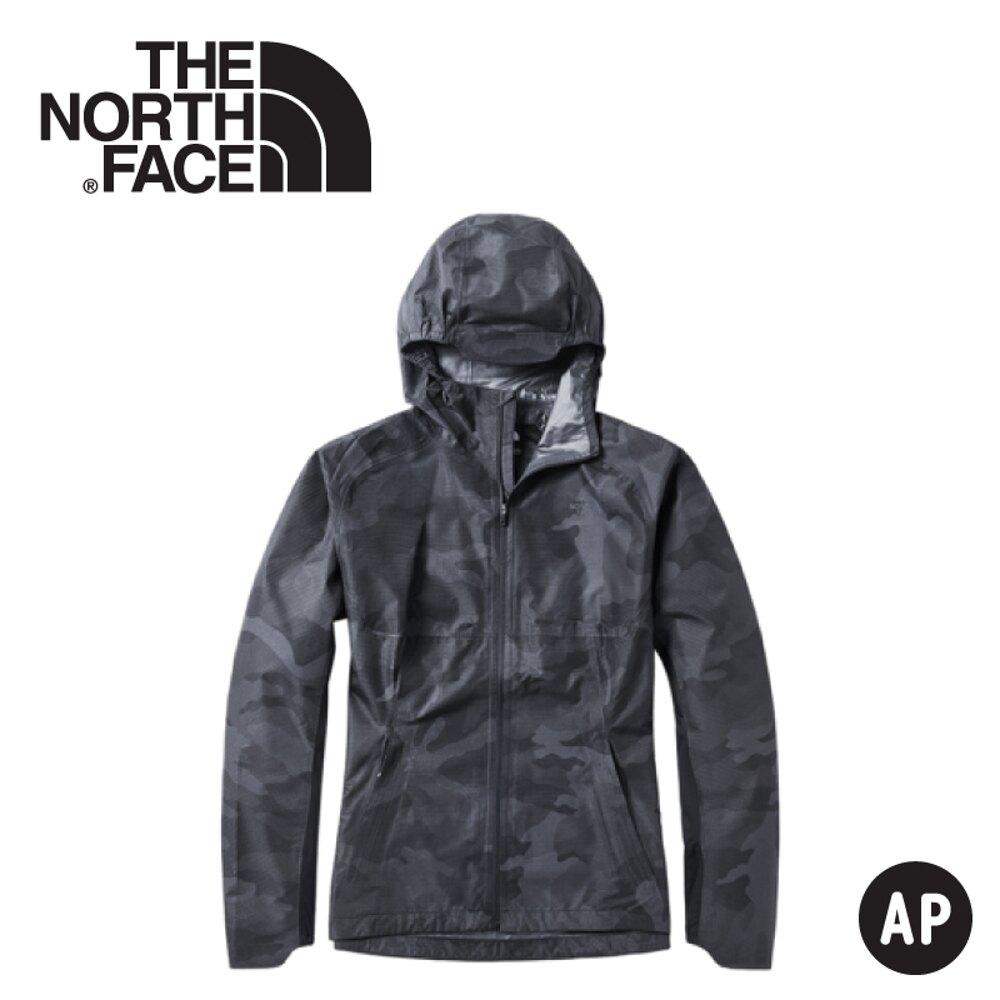 《低溫特報》【The North Face 男 防水外套《迷彩印花》】3YVE/防水外套/衝鋒衣/防風外套/保暖外套/防風