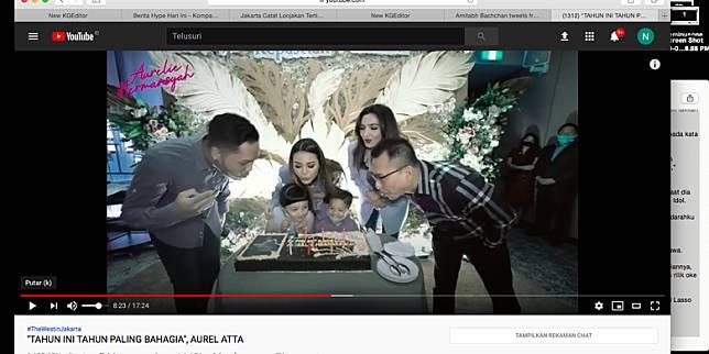 YouTube Aurelie Hermansyah