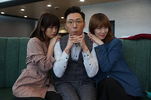 陳俞希(左)大爆陳子豐話摸J.Arie嗰場戲過足手癮!