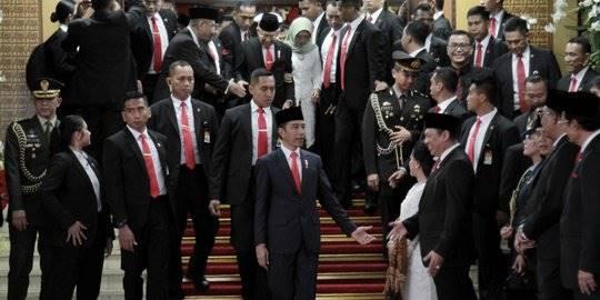 Pelantikan Jokowi-Maruf. ©2019 Merdeka.com/Iqbal Nugroho