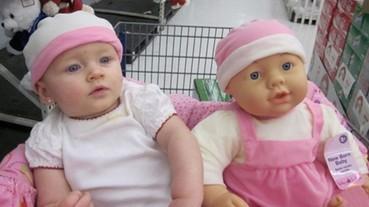 小朋友 vs. 玩具娃娃 本尊分身傻傻分不清楚...