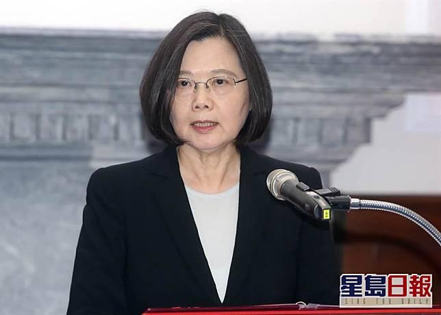 台灣蔡英文總統。網上圖片