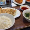 ワンコイン定食 - 実際訪問したユーザーが直接撮影して投稿した新宿餃子薄皮餃子専門 渋谷餃子 新宿3丁目店の写真のメニュー情報