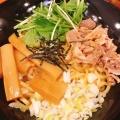 油そば - 実際訪問したユーザーが直接撮影して投稿した新宿ラーメン・つけ麺壱角屋 新宿東南口店の写真のメニュー情報