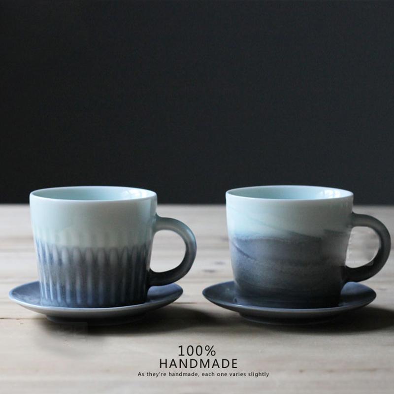 涉谷嚴選‧陶瓷杯咖啡簡約手工英式精品午茶杯碟陶瓷杯情人禮物 下午茶品味人生 名師設計款