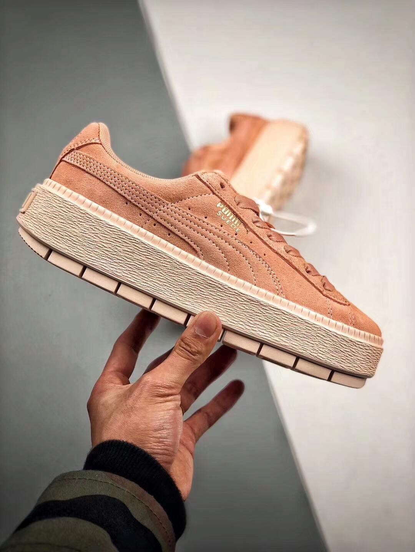 PUMA Platform Trace Block Wn's 蕾哈娜聯名 厚底松糕鞋 女款。運動,戶外與休閒人氣店家Mansmall 運動休閒館的PUMA有最棒的商品。快到日本NO.1的Rakuten