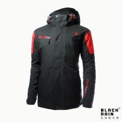 【荷蘭Black Rain】男 weron 4嚴寒戶外多功能外套 BR-3004(7000 黑)