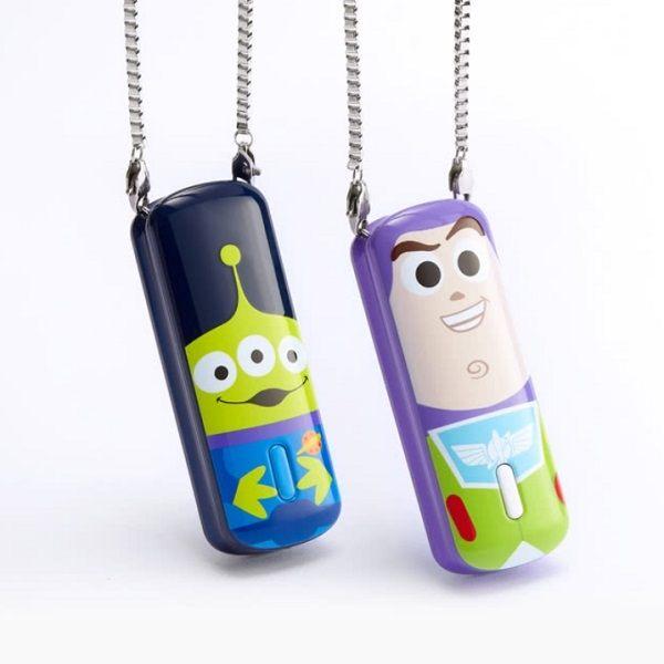 InfoThink 玩具總動員-巴斯光年 三眼 隨身項鍊負離子空氣清淨機 去除PM2.5