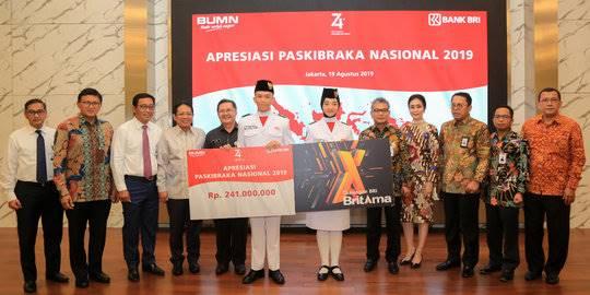 Bank BRI beri apresiasi. ©2019 Merdeka.com