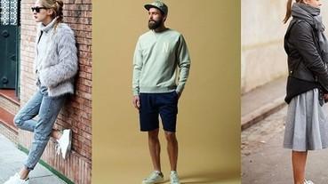 穿出簡約風格 Adidas Stan Smith 男女穿搭技巧!