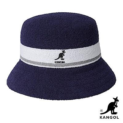 KANGOL-BERMUDA STRIPE 漁夫帽-藍色
