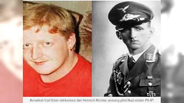 英國一名男童生前自稱自己前世是德國納粹的一名飛官,並預言自己25歲前就會死亡,結果應驗。(圖/翻攝自EraBaru EpochTimes)