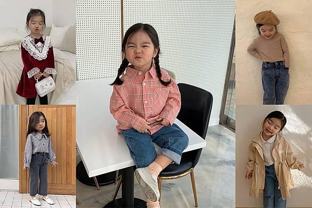 穿搭的想法枯竭了嗎?讓五歲韓國小網美Chichimi幫助你獲得穿搭靈感學會擺拍~|穿搭推薦