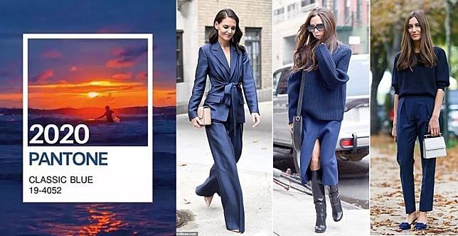 巨顯白又好駕馭~PANTONE年度色經典藍,秋冬這樣穿最好看