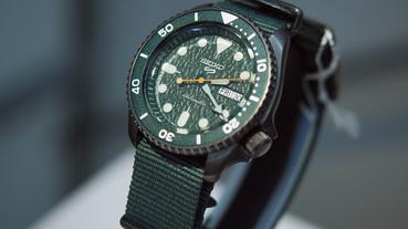 起點現場 / 從滴答聲進入洗鍊的大人滋味 全新 Seiko 5 Sports 系列機械腕錶