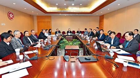 智慧燈柱技術諮詢專責委員會舉行會議。