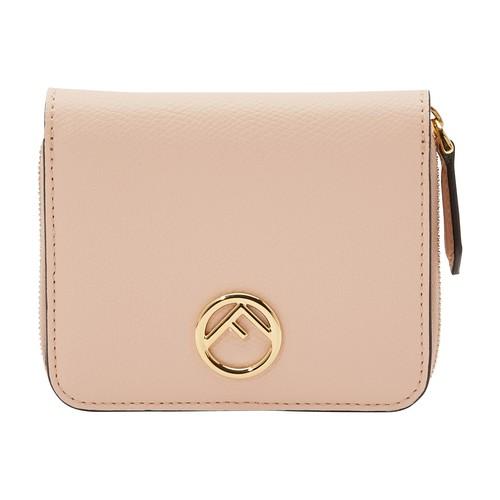 F Is Fendi Leather Wallet