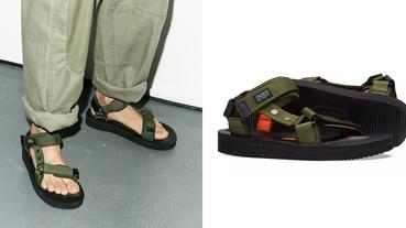 越戰涼鞋 Nigel Cabourn x SUICOKE 洋溢軍事材質與色調