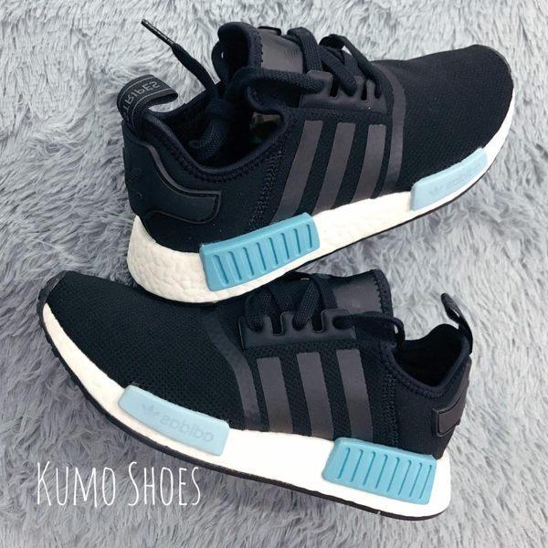 ADIDAS ORIGINAL NMD R1 黑藍 水藍 網布 運動 球鞋 BY9951