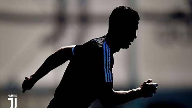 Ronaldo dan Higuain di Sesi Latihan