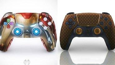 瞬間變潮流!畫師為 PS5 手把設計「鋼鐵人版本」,Nike 倒鉤和 LV 概念圖也出爐!