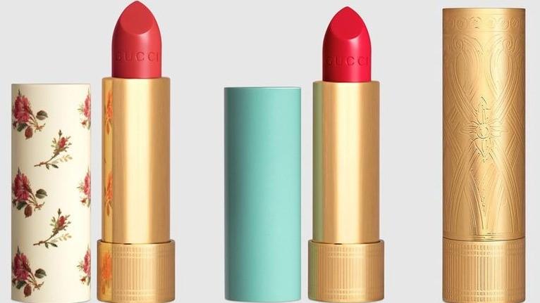 Gucci 推出全新58色唇膏!超美金色管身今年9月轟動登台
