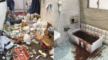 日本清潔公司用模型還原「孤獨死」案件房間模樣 死亡現場真實到令人感到驚悚⋯