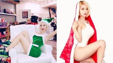 連換 4 套聖誕球鞋穿搭!潮流女神 DJ Soda 變奏版聖誕經典曲目大放送造福粉絲