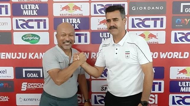 Timnas Indonesia U-19 vs Iran, Fakhri Tak Akan Ubah Formasi
