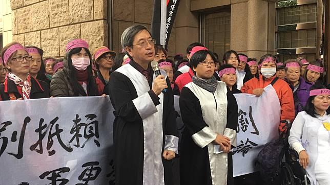 律師林永頌(左)。記者林孟潔/攝影