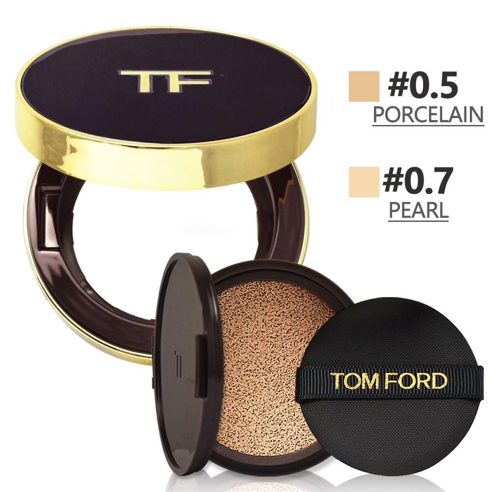TOM FORD 時尚氣墊粉餅蕊12g+時尚氣墊粉餅盒 多色可選 國際限定版 小婷子