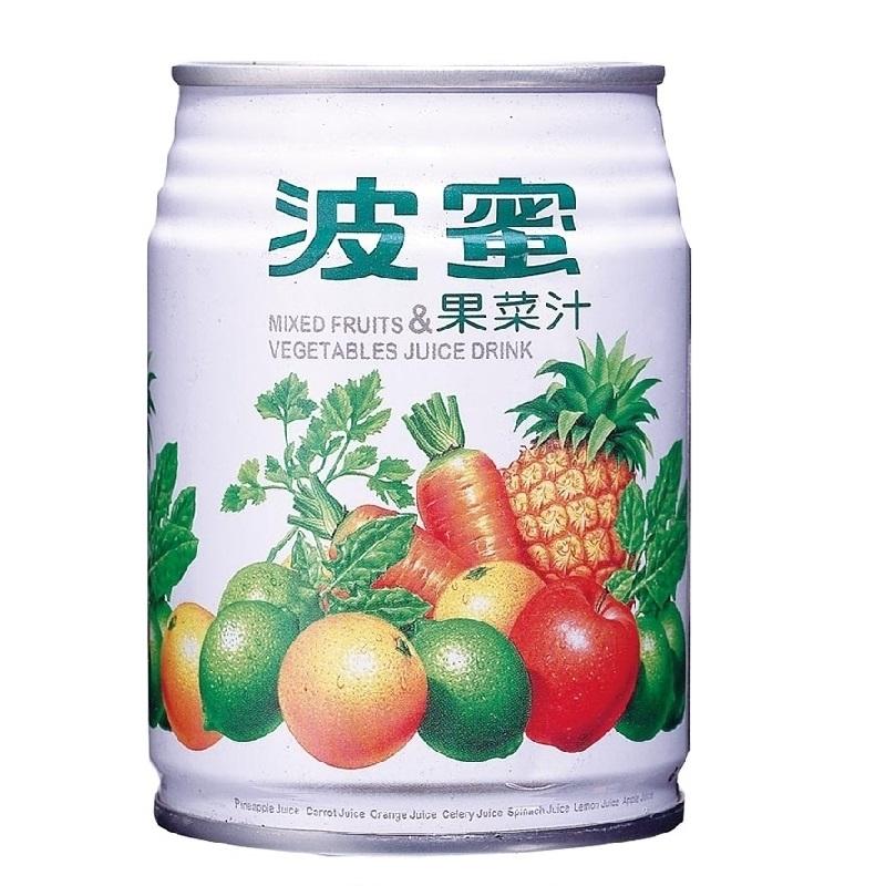 波蜜果菜汁Can240ml