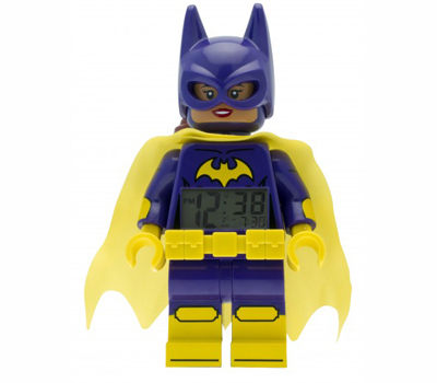 樂高蝙蝠俠電影-蝙蝠女鬧鐘