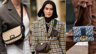 名牌包流行輪迴中的不敗選項!Louis Vuitton、Dior、Gucci等7大經典Logo印花精品包款推薦