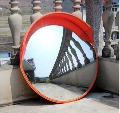 24H現貨·60CM交通室內外廣角鏡80CM道路廣角鏡轉角球面鏡反光鏡防盜凸面鏡子