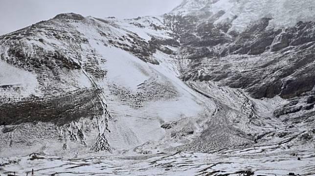 Ilustrasi gletser di Tibet. [Shutterstock]