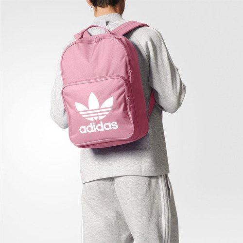 休閒流行包品牌:ADIDAS型號:BK6725品名:Tricot Classic Backpack配色:粉色,白色