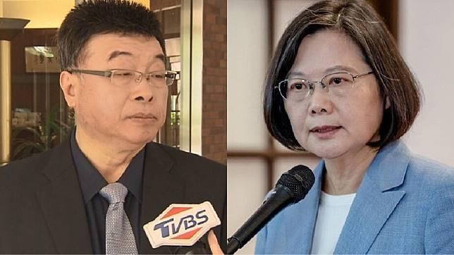 圖/TVBS資料照、翻攝自蔡英文臉書
