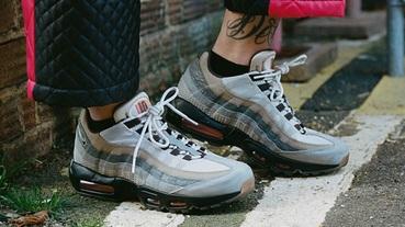 新聞分享 / 25 周年特別版 Nike Air Max 95 '110' 重現倫敦瘋鞋熱潮