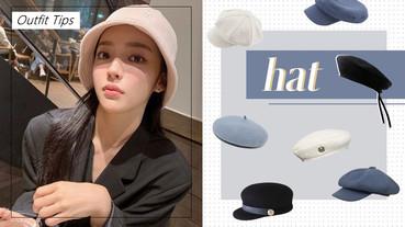 冬季「帽子搭配指南」!不同帽子種類適合臉型、戴法,讓你保暖不失美麗!