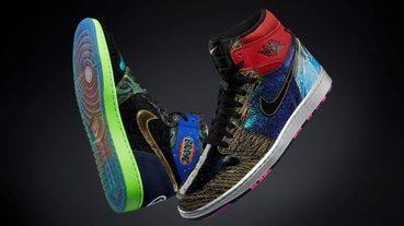新聞分享 / 競標募善款 Air Jordan 1 'What The' Doernbecher 集結 14 雙病友設計的飛人鞋款