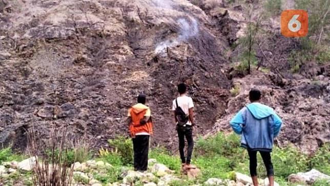 Calon Gunung Berapi (Ola Keda/Liputan6.com)