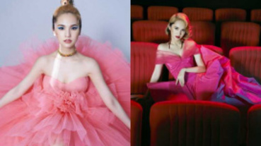 楊丞琳展現國際時尚明星感 霸氣表示:我就是這麼多元!