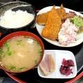 アジフライ定食 - 実際訪問したユーザーが直接撮影して投稿した北新宿ラーメン・つけ麺かぶ吉の写真のメニュー情報