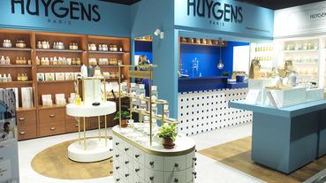 起點現場 / 訂製你的天然香氛 巴黎瑪黑 HUYGENS 台灣第一家店在信義新光登場